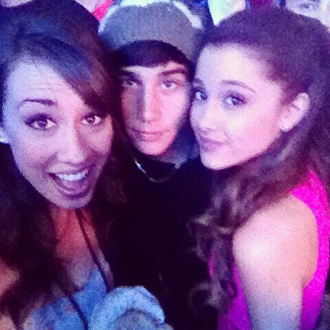 File:Colleen, Jai, and Ariana at Wango Tango 2013.jpg