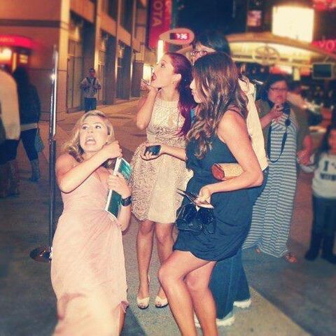 File:Ariana and Jennette looking freaked out with Daniella Monet.jpg