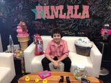 Cameron interviewing with Fanlala June 14, 2013