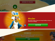 Healer acquired