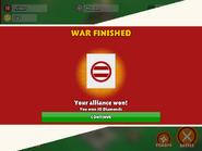 Alliance win