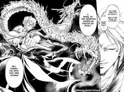 """Akira, the """"Double Headed Dragon"""""""