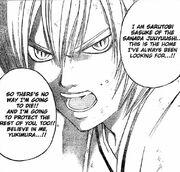 Sasuke personality