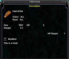 Filet of Rat