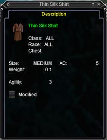 Thin Silk Shirt