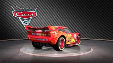 "Cars 2 Turntable ""Lightning McQueen"""