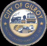 Gilroy city seal image