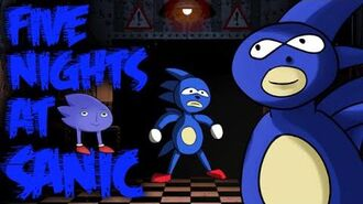 FIVE NIGHTS AT SANIC -DEMO- - CRAZIEST FNAF PARODY EVER!