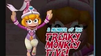 Ape Escape 3- Monkey Pink Boss Music