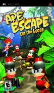 Ape Escape On The Loose PSP boxart gamescanner