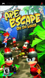 Ape Escape On The Loose PSP boxart gamescanner