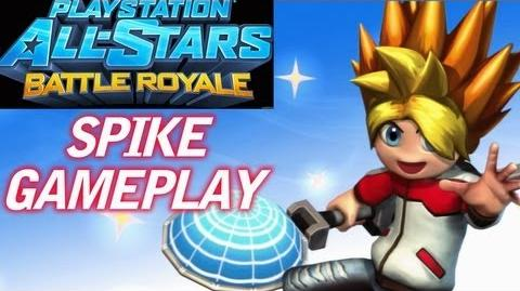 PlayStation All Stars - Spike Gameplay