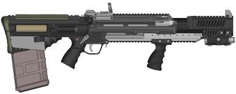 KMS Tactical Shotgun