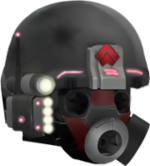 UNSCDeepSpace ProtectionMaskRED