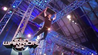 Is it an uneven bridge too far for Teige? Ninja Warrior UK