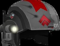 Trooper Helmet RED