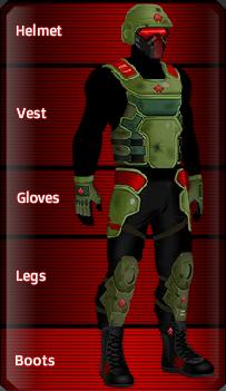 RED Kevlar set
