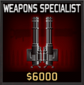 Weapons Specialist