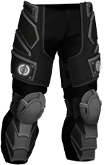 -BLACK- Hardplate Leg Protection