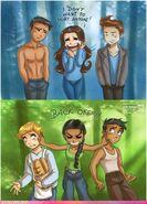 Twilight vs hunger games, female leads