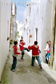 Italian boys playing