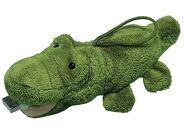 Furry crocodile