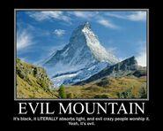 Motiv - evil mountain