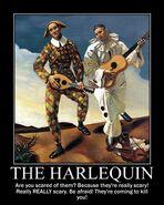 Motiv - harlequin