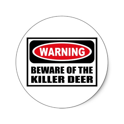 File:Warning beware of the killer deer sticker.jpg
