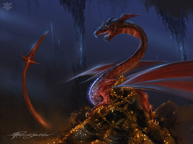 File:Smaug and his treasure by Shockbolt.jpg