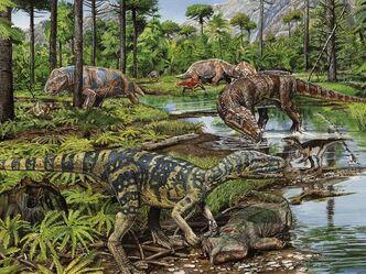 Triassic-dinosaurs 1256 600x450