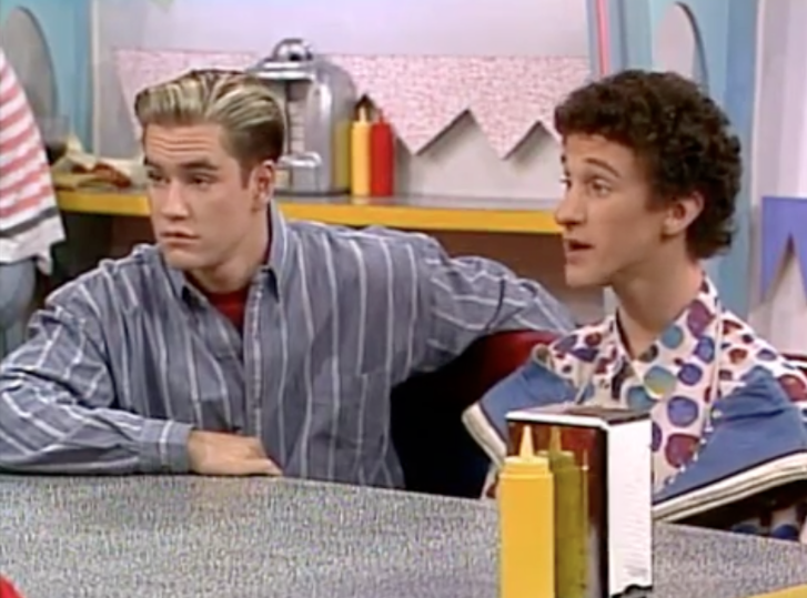 saved by the bell jessie and slater started dating Saved by the bell was a nbc sitcom trope namer: zack, kelly, slater, jessie (for a little and don't get us started on slater's jheri curls and zack's.