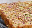 Baklava à l'eau de rose