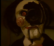 Billy Puppet Face Explosion