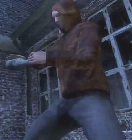 Barry look alike - Saw-The Video Game