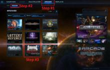 Mafia Arcade Screen