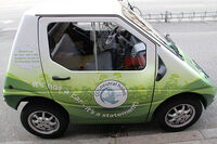 Electric car for rent