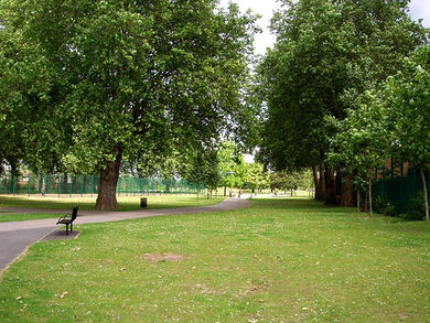 Canning Town Recreation Ground, London Borough of Newham, E16