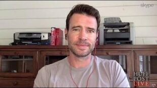 Scott Foley Interview Making Out With Pregnant Kerry Washington