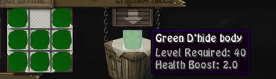 Green dbody