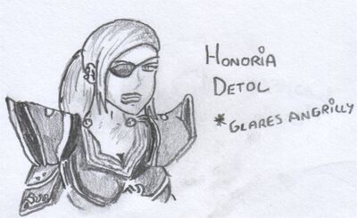Honoria detol by he jin