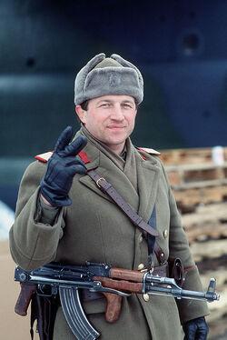Rumänischer Soldat