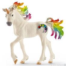 Unicorn Rainbow Foal