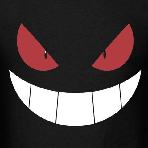 File:Evil-smile-design-t-shirts-men-s-t-shirt.jpg