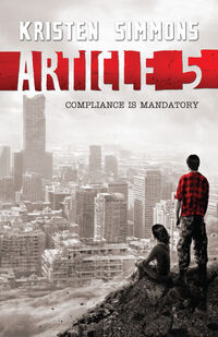 Article 5 2012 Book Cover