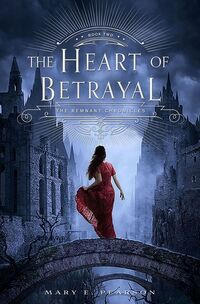 The Heart of Betrayal 2015 Book Cover