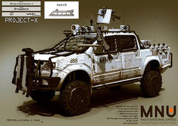 MNU Up-Armoured Toyota Hilux 5