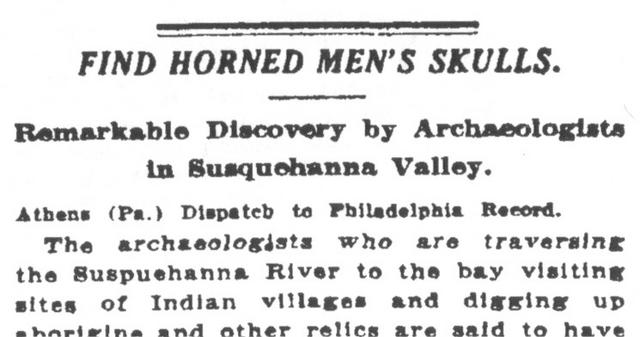 File:Newspaper -Find Horned Men's Skulls.png
