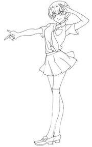Tsubasa sketch