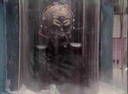 Davros is frozen